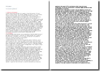 Droit pénal : introduction générale