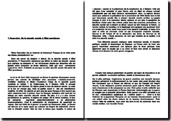 De la sécurité sociale à l'État providence, Extrait du chapitre 4 de P. Rosanvallon,