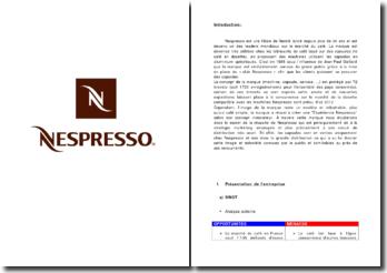 Etude de cas : Nespresso - distribution et marketing