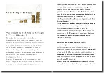 Le concept de marketing de la banque