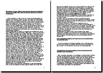 Edit sur la réunion à la couronne du patrimoine privé du roi en juillet 1607
