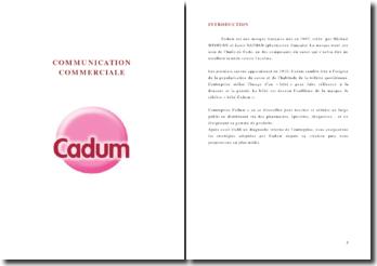 Communication commerciale: Cadum