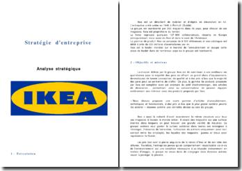 Analyse stratégique IKEA