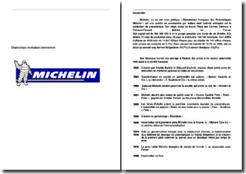 Diagnostic stratégique international Michelin