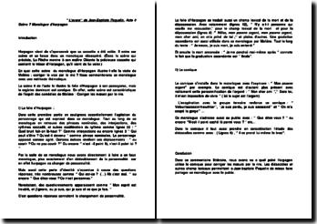 L'avare'' de Jean-Baptiste Poquelin, Acte 4 Scène 7 Monologue d'harpagon