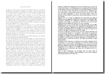 L'histoire du Droit: traité des lois et coutumes d'Angleterre, proclamé vers 1188