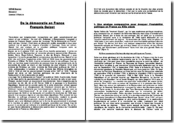 De la démocratie en France - François Guizot