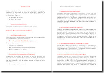 Cours de droit du travail: prévention et gestion des conflits au sein de l'entreprise et les restructurations
