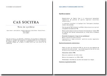 Etude commerciale de la société Socitra