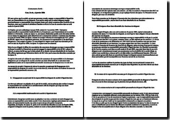 Commentaire d'arrêt : Cass. 3e civ., 4 janvier 2006
