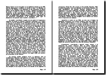 Critique de l'organisation du travail - Thomas Coutrot: quels types de domination sont présents dans le modèle « néo-libéral » ?