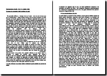 Commentaire d'arrêt : Civ 1ère, 4 juillet 1995