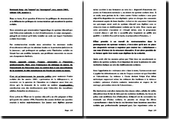 Du cancre au sauvageon - Bertrand Geay