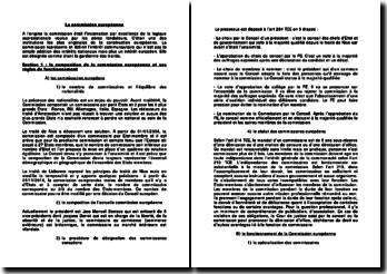 La composition et les attributions de la commission européenne