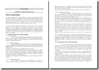 Les lois de finances: élaboration, exécution, contrôle