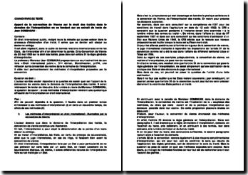 Quel est l'apport de la convention de Vienne dans le domaine de l'interprétation des traités