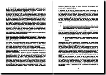 Le principe de l'équidistance constitue-t-il ou pas une règle de droit international coutumier