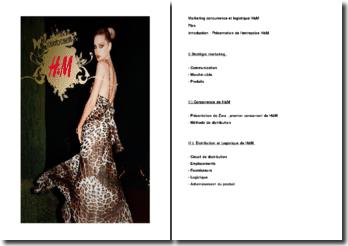 Marketing concurrence et logistique H&M