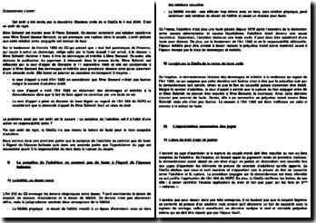 Commentaire d'arrêt de deuxième Chambre civile de la Cour de cassation du 4 mai 2000