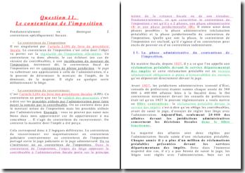 Le contentieux de l'imposition: la phase administrative et la phase juridictionnelle