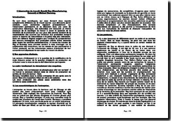 L'observation du travail: Donald Roy (Manufacturing Consent) et Michael Burawoy