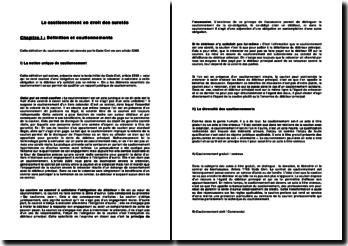 Le cautionnement en droit des sûretés: définition, conditions de formation, effets et extinction
