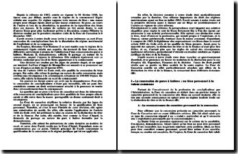 La question de la répartition des biens au cours de l'union et lors de sa dissolution, chambre civile de la cour de cassation du 8 décembre 1987