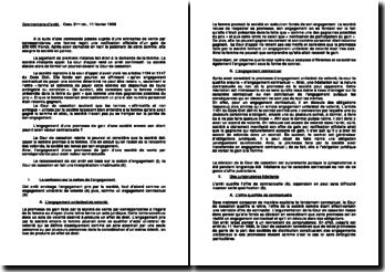 L'engagement d'une promesse de gain d'une société envers son client peut-il avoir valeur contractuelle ? Cour de cassation du 11 février 1998