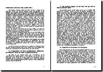 Est-ce que le crime d'empoisonnement suppose, pour être caractérisé, la présence de l'animus necandi, cour de cassation du 2 juillet 1998