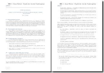 Cycle de vie de l'entreprise: Financer son entreprise de la création à la transmission par le Capital Investissement - Pierre Battini