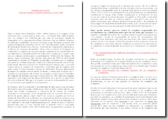 Commentaire d'arrêt - Chambre criminelle, cour de cassation du 21 mai 1996 : responsabilité du complice