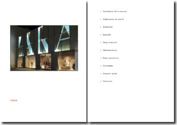 La empresa Zara