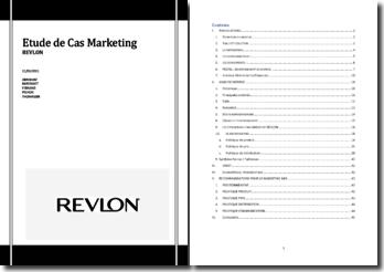 Etude de cas marketing : Revlon