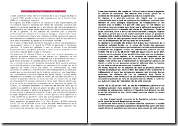 Cour d'appel de Paris, 3e Chambre, 13 juillet 1993