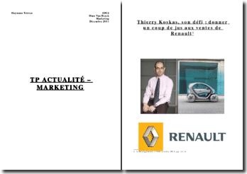 Thierry Koskas, son défi: donner un coup de jus aux ventes de Renault