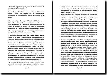 « Neutralité, objectivité, pratiques de recherches autour de la position de l'observation »