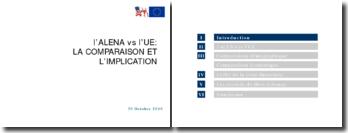 L'Alena vs l'U.E : la comparaison et l'implication