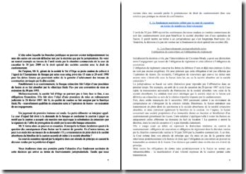 Arrêt rendu par la chambre commerciale de la cour de cassation le 30 juin 2009 : le droit spécial des sociétés coexiste avec le droit du cautionnement