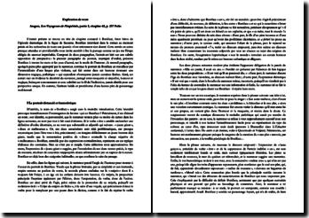 Explication de texte : Les Voyageurs de l'impériale - Aragon