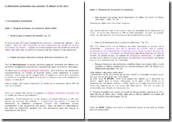 La dissertation économique aux concours - P. Desaint et alii, 2010