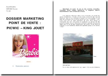 Comparaison marketing entre les magasins de jouets Picwic et King Jouet