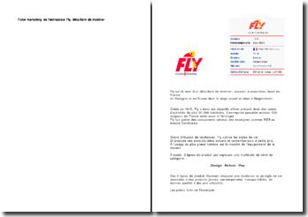 Fiche marketing de l'entreprise Fly, détaillant de mobilier
