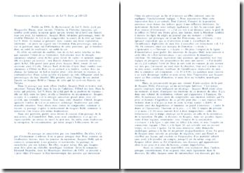 Commentaire sur Le Ravissement de Lol - V. Stein, p 120/121
