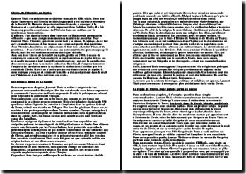 Clovis, de l'Histoire au Mythe - Laurent Theis, une vision plus vraie de Clovis