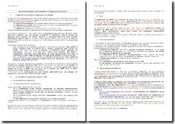 Les caractéristiques de la procédure d'opposition en France