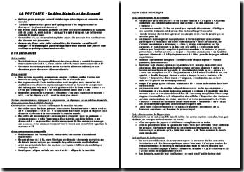 Analyse de la fable Le lion malade et le renard - Jean de La Fontaine