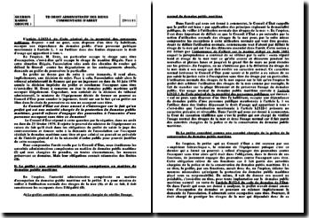 Commentaire d'arrêt, Conseil d'Etat, 23 février 1979: la propriété des personnes publiques