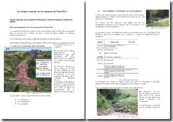 Les risques naturels sur la commune du Mont-Dore: facteur de risques et modalités de gestion