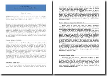 L'or et l'azur : Les manuscrits de la famille Rolin - Marie-Josette Perrat