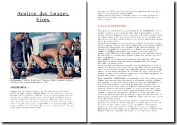 Analyse des images fixes: affiche de Dolce et Gabbana